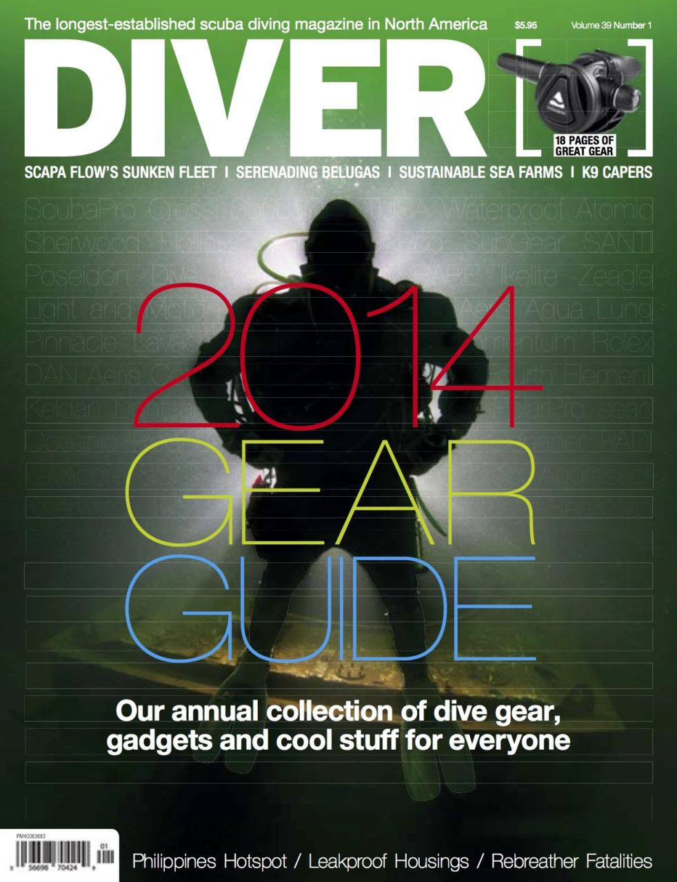DIVER 2014 Gear Guide
